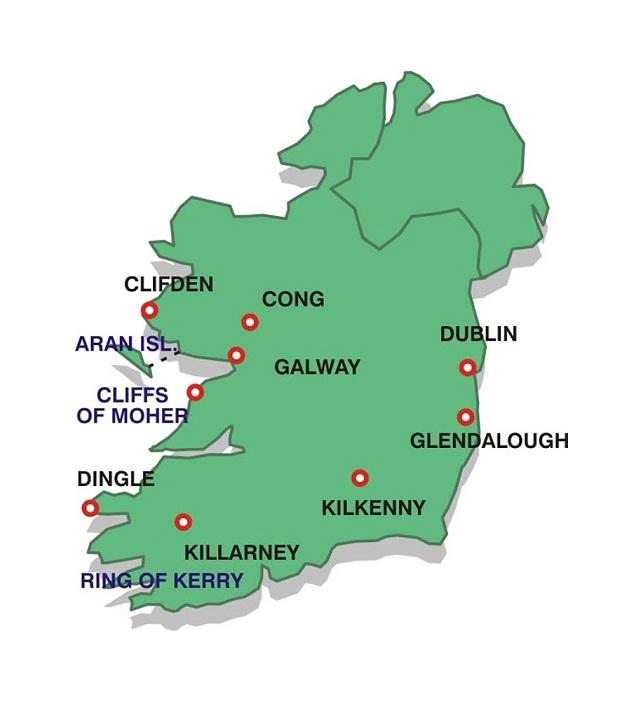 Irsko Kouzelny Ostrov